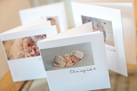 Luxury-birth-announcement-cards