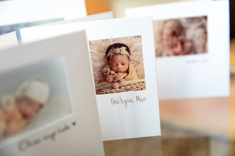 Luxury cards birth announcement baby-002