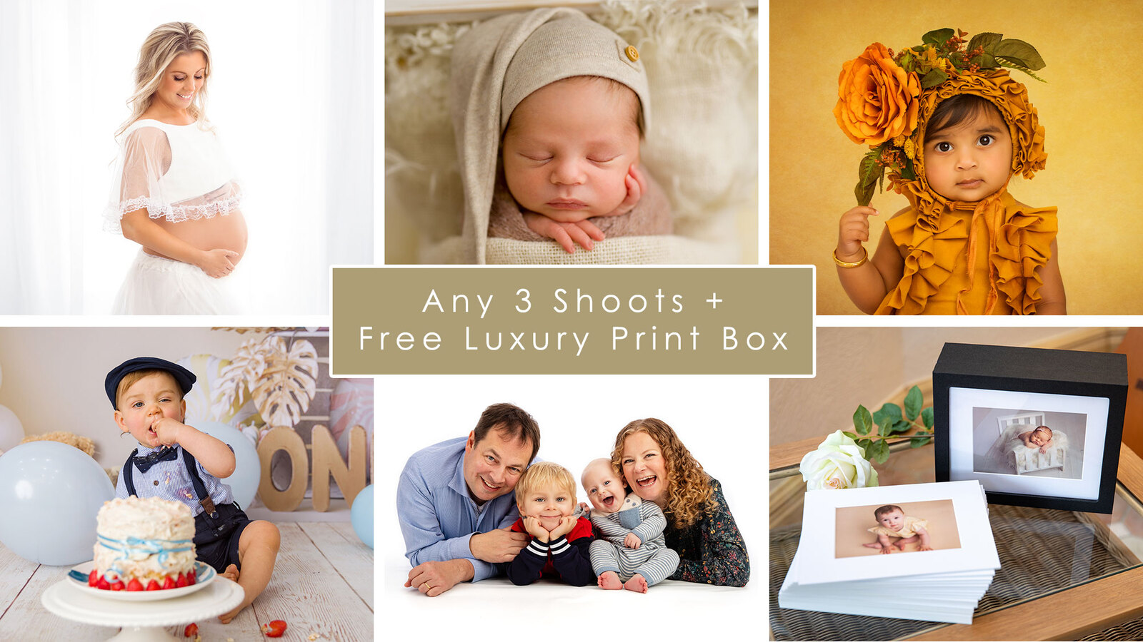 3 Shoot Baby Plan - Sussex Baby Photographers